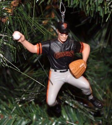 SAN FRANCISCO GIANTS Christmas tree ornament ROBBY THOMPSON alt black jersey  ()