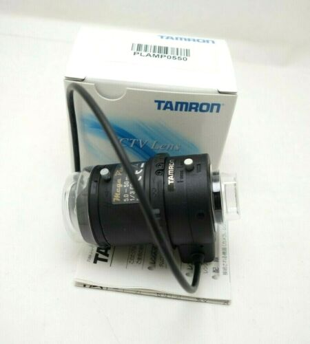 New Tamron M13VG550 PLAMP0550 5-50mm Megapixel CS DC Auto-Iris CCTV Camera Lens