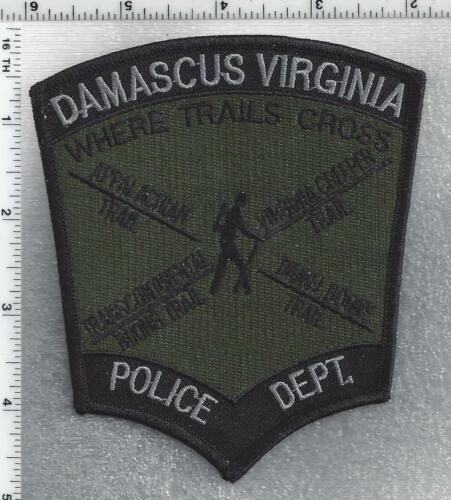 Damascus Police (Virginia) 1st Issue Subdued Shoulder Patch