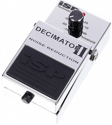 ISP Technologies Decimator II Noise Reduction Guitar Effects Pedal