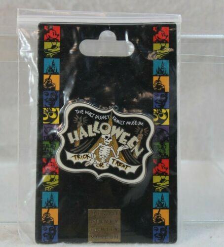 C1 Walt Disney Family Museum Pin WDFM Halloween Trick or Treat Skeleton Dance