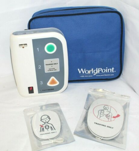 WNL Practi-Trainer WL220 Training AED Defibrillator, w/ Case & Pads, Ships Free