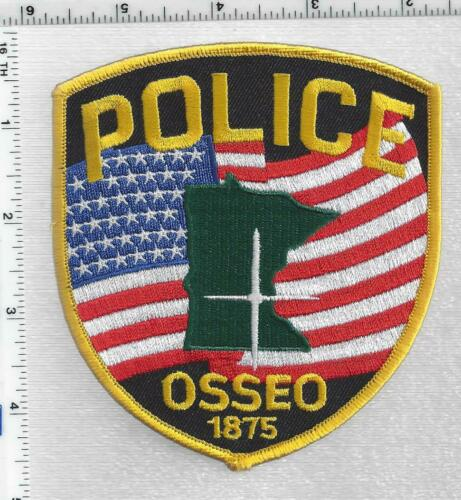 Osseo Police (Minnesota) 3rd Issue Shoulder Patch