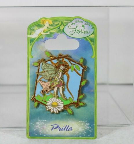 B4 Disney Parks Pin Tinker Bell Fairies Fairy Series Prilla