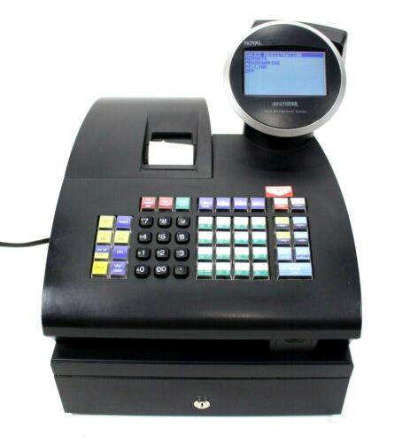 Royal Alpha 1100ML Cash Management System Register Dual Display No Key Tested