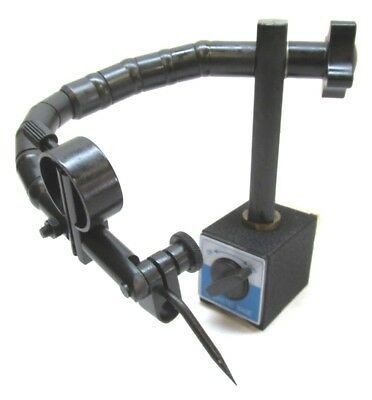 New Flexible Magnetic Base Dial Indicator Stand W Scribe