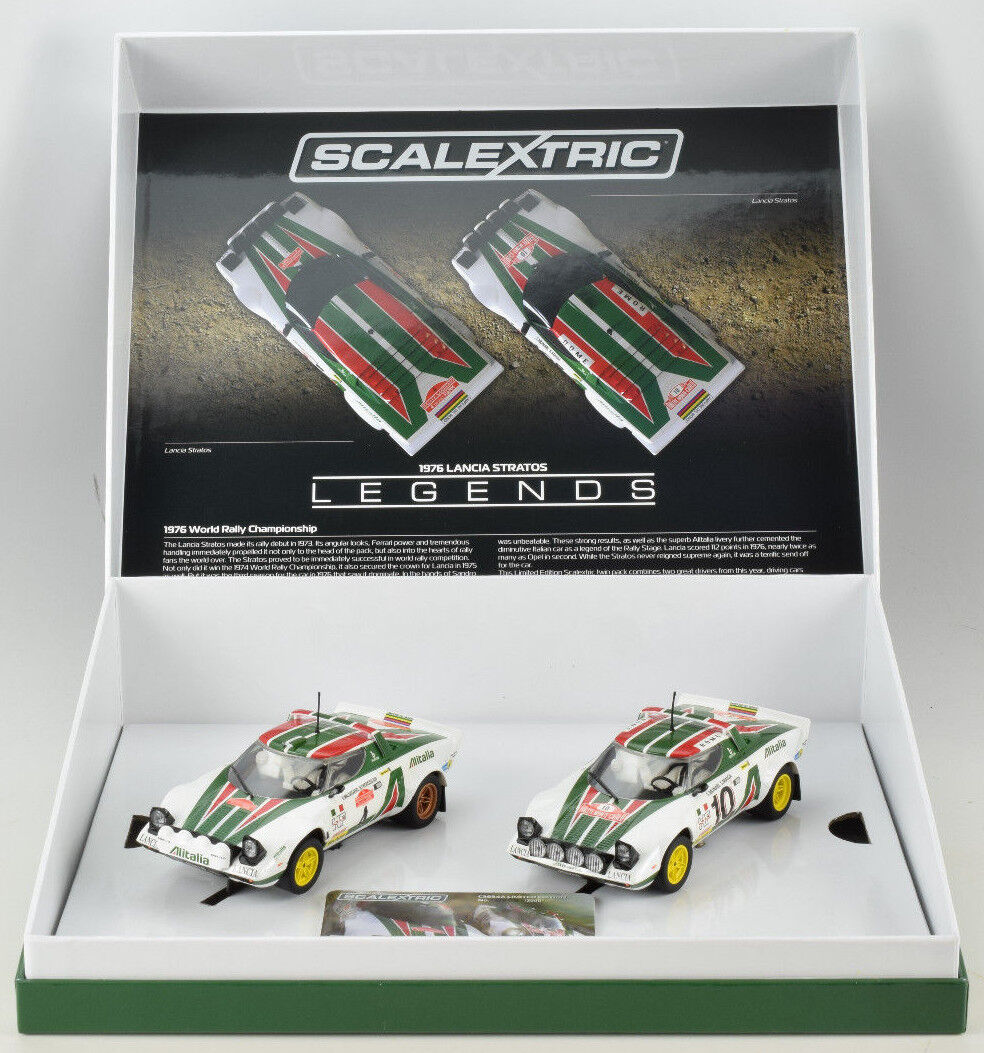 Scalextric Legends Lancia Stratos -1976 Rally Champions Limi
