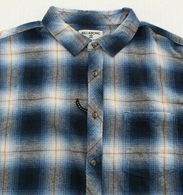 Billabong Coastline Shirt Flannel Mens Size 2XL