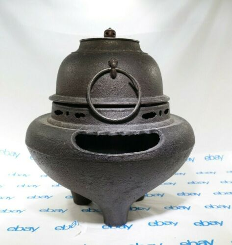 Japanese Antique Chagama Kettle Ceremony Wind Furnace TF