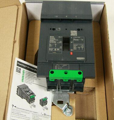 Square D FA FA36020 3 Pole 600V 20 Amp Circuit Breaker Gray Label