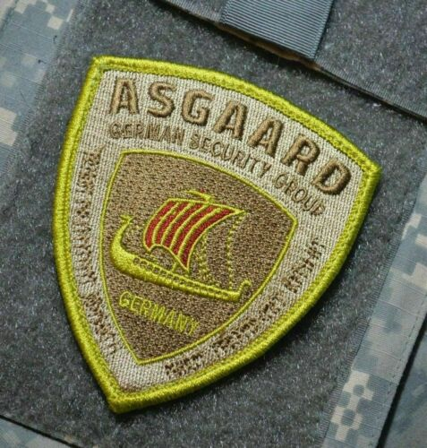 ANTI-TERRORISM DIPLOMATIC SECURITY ASGAARD GSG PMC Velkrö DD PATCH: BAGHDAD BOY