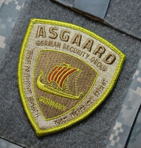 PRIVATE MILITARY CONTRACTOR GERMAN SECURITY ASGAARD GSG BAGHDAD BOYS 2017 SHIELD