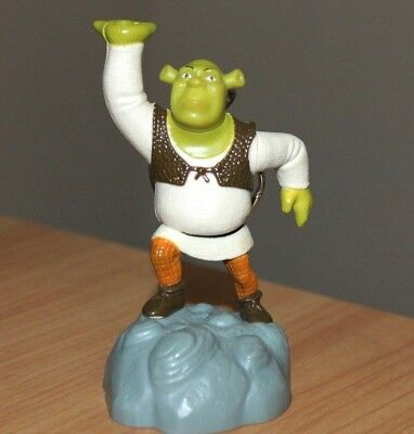 Shrek Toy Figure Key Chain Burger King Kid's Meal Toy 2001