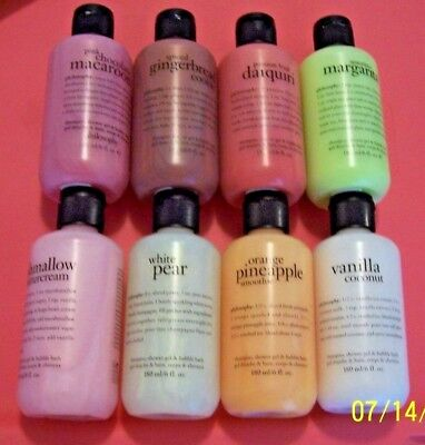 Philosophy New Shampoo, Shower Gel & Bubble Bath Scents - 6 oz - You Choose