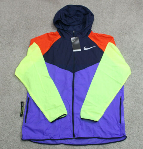 ✅ Nike Men's Reflective Windrunner Running Jacket Size 2XL NWT AR0257-518