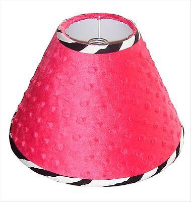 Lamp Shade - Hot Pink Zebra by Sisi