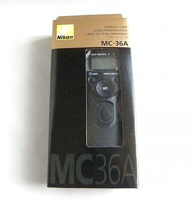 Nikon MC-36A MC36A Multi-Function Remote Cord D3 D3s D3x D4 D200 D300 D300 D700