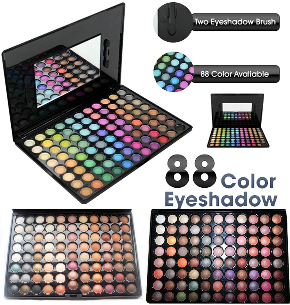 88 Color Pro 7 Kind Fashion Eyeshadow Palette Shimmer Eye Sh