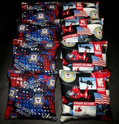 Guard Flag Bags -  USA COAST GUARD Military Patriotic Flag 8 ACA regulation Cornhole bags