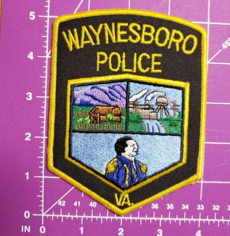 Waynesboro Virginia POLICE-shoulder patch