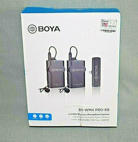 BOYA  BY-WM4 PRO-K6 2.4G Wireless Microphone System