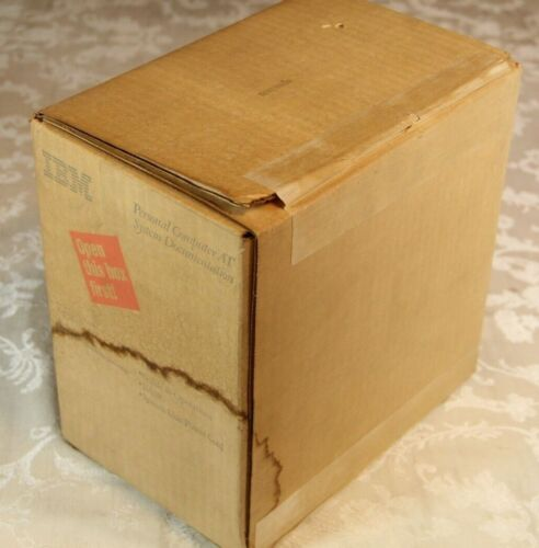 IBM Personal Computer 5170 AT System Documentation Sealed w/ Water Damage SEE!
