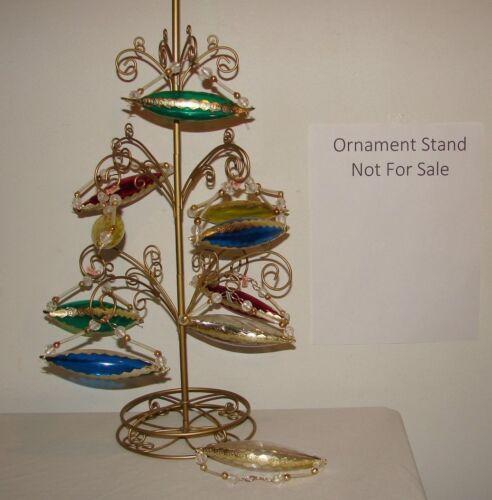 Vintage Atomic Plastic Ornaments Japan Submarine NOS Lot (10 pc) Rare