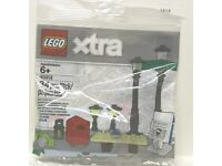 Lego Basic Technik Technic 10 Platten 1x10 #4477 schwarz