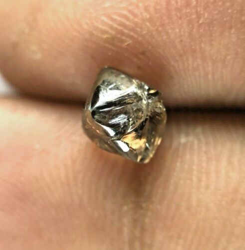 Uncut Rough Diamond 1.83TCW Brown Sparkling Natural Octahedron shape for Gift