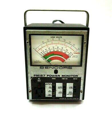 Sencore Pm157 Power Line Monitor Powers On Fine