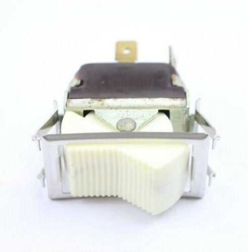 (1) NOS McGill Rocker Switch 2 Position 20A 277V 1-1/2HP 125-250V USA, 35 avail.