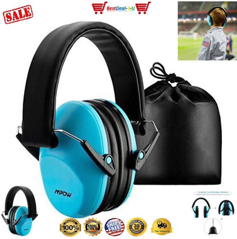 Kids HEARING PROTECTION EAR MUFFS Shooting Range Gun Hunting