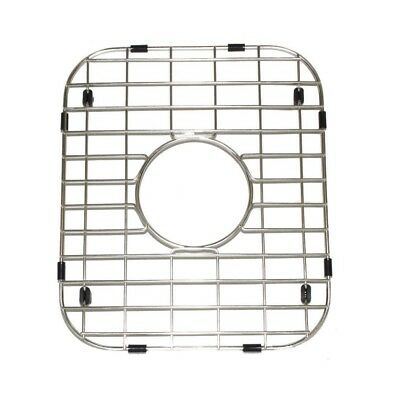Double Bowl 50/50 Kitchen Sink Bottom Grid Stainless Steel 13.62 x 11.62 1 Grid ()
