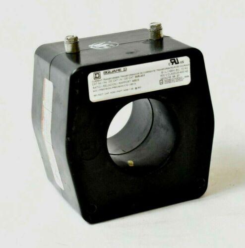 Square D 66R-401 Current Transformer 400:5