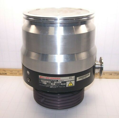 BOC EDWARDS TURBOMOLECULAR PUMP EXT501E 450 L/S B728-24-000