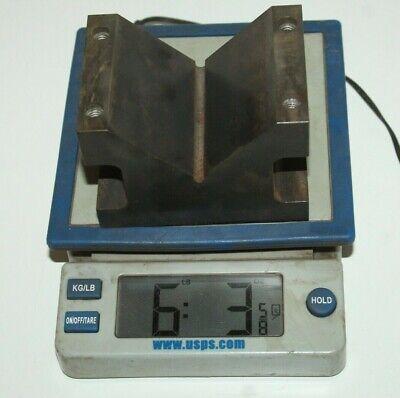 Machinist Large 4 X 3 X 2 78 V-block 6 Lbs