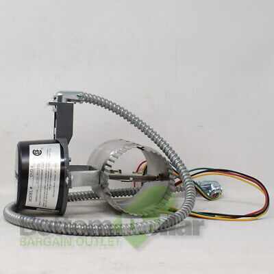 Field Controls GVD-4 Gas Vent Damper 24V 60Hz 80ma With Wiring Harness