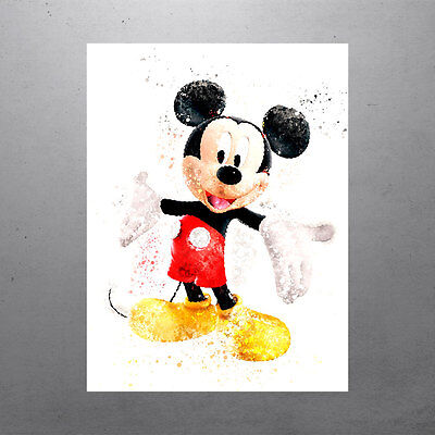 Walt Disney Mickey Mouse Poster FREE US SHIPPING - Mickey Mouse Poster