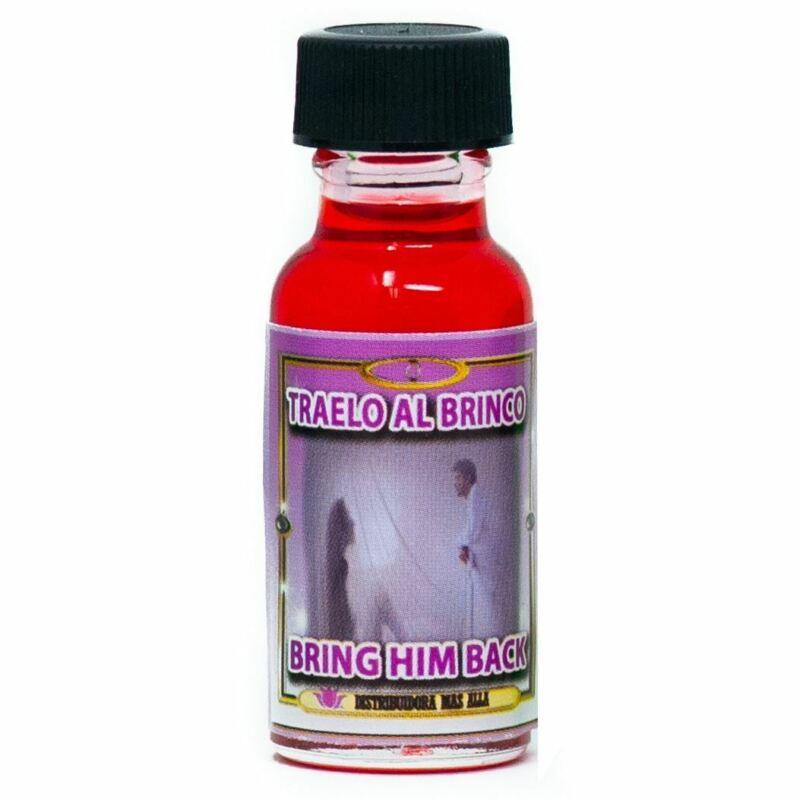 Aceite Traelo Al Brinco - Bring Him Back Spiritual Oil - Anointing Oil - Magical