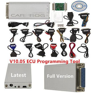 Latest V1005 Carprog Full Version wAll 21 Item Adapter Car ECU PROG Programmer