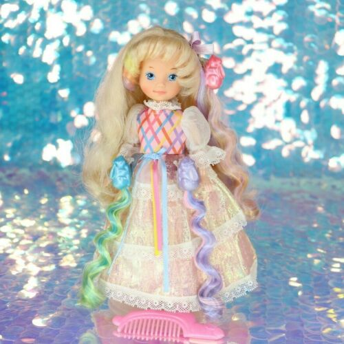 LADY LOVELY LOCKS DOLL Pink Dress Shoes Comb 3 PIXIETAILS 80s Vintage LLL BO106