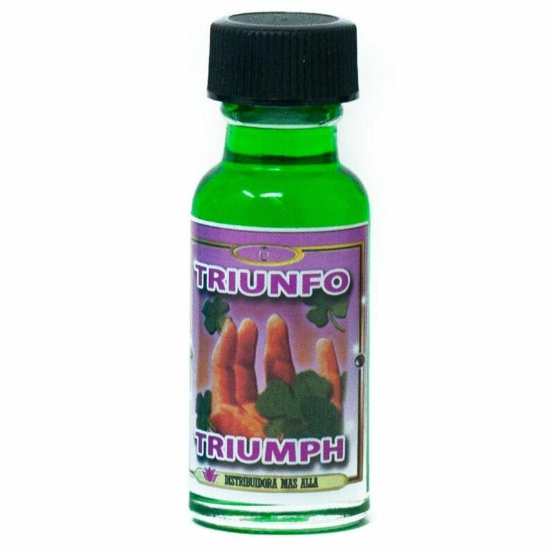 Aceite Triunfo - Triumph Spiritual Oil - Anointing Oil - Magical Oil