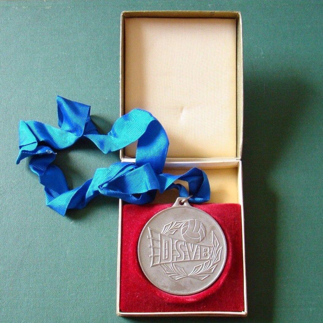 DDR Medaille - Plakette - Sport - DSVB - Volleyball - Meisterschaft - 1986