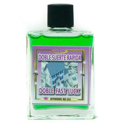 Perfume Doble Suerte Rapida -  Double Fast Luck Esoteric And Spiritual Perfume