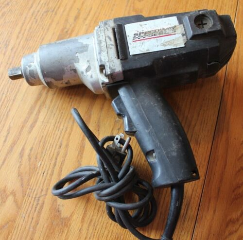 """Speedway Series Impact Wrench corded electric 1/2"""" square drive"""