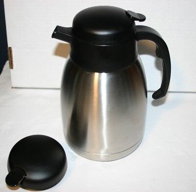 Service Ideas Fvp15 Stainless Steel Server 1.5 L Steelvac Carafe Coffee Tea
