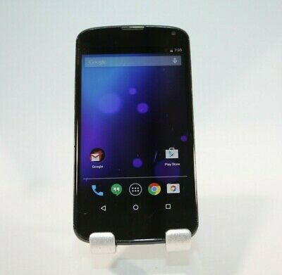 LG Nexus 4 E960 - 8GB - Black (Unlocked) Smartphone