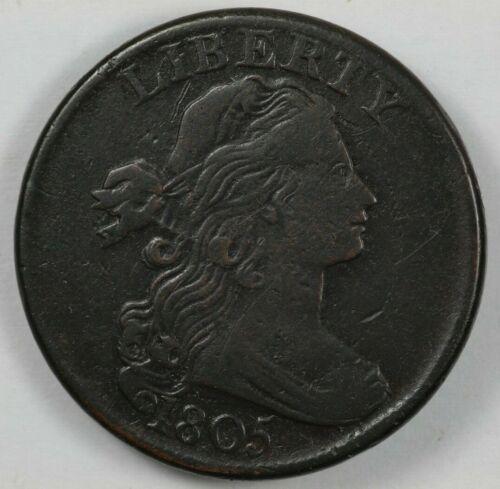 1805 Draped Bust Large Cent 1C - S-269