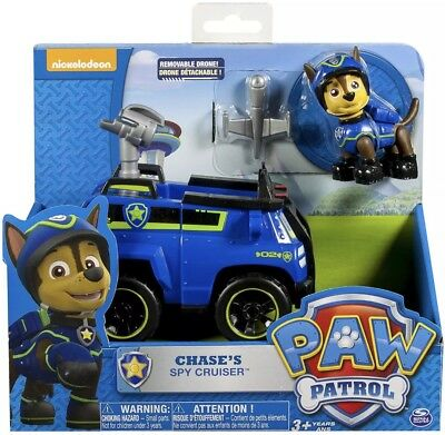 New Paw Patrol Chase's Spy Cruiser, Vehicle and Figure Best Gift Toy For