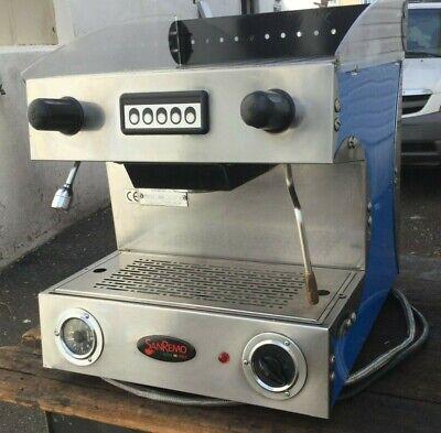 San Remo Capri 1 Group Commercial Espresso Machine Cappuccino Latte 110 Volts